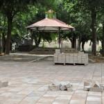 Adiós al albero: Los adoquines invaden los Jardines del Prado