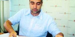 Rafael Sánchez, secretario general del PSOE de Puertollano