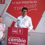 """Caballero lamenta que los dos años de gobierno de Cospedal y Cotillas hayan significado el """"desmoronamiento"""" de Tomelloso"""