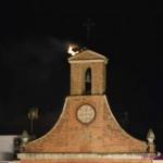 Almadén: Un rayo pulveriza el nido de cigüeñas de la Iglesia de San Juan