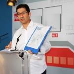Caballero alerta de la intención del gobierno central de «paralizar» el tercer ramal de la tubería manchega