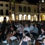 Manzanares: Rafa Garcel llenó la plaza de la Constitución con su recital de copla