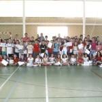 Argamasilla de Calatrava: 180 niños recogen sus diplomas de las escuelas deportivas de verano