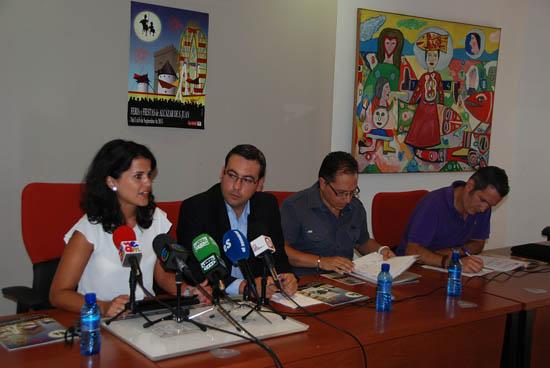 María Jesús Pelayo, Diego Ortega, Benedicto Úbeda y Manuel de la Guía