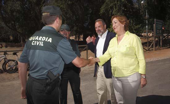 María Luisa Soriano visita el Parque Natural de las Lagunas de Ruidera-1