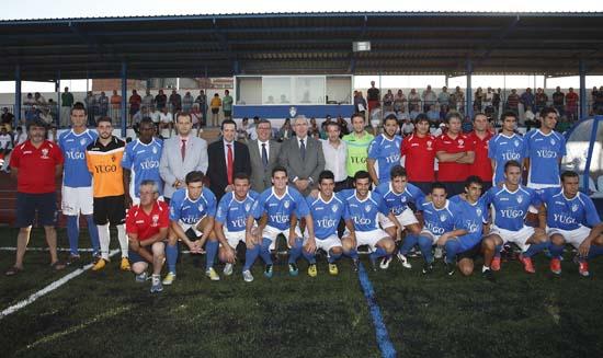 Marín. Inauguración Campo de fútbol de Socuéllamos