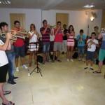 El trompetista Manuel Blanco imparte una master class en Villanueva de los Infantes