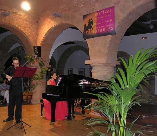 Recital violín y piano.