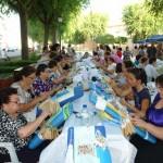 Cerca de 300 bolilleras de todas las generaciones comparten experiencias el XVII Encuentro regional de Encajeras de Torralba