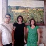 Noventa lienzos de María de la Sierra Vallejo llenan de luz las paredes del Museo Etnográfico de Villarrubia de los Ojos