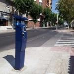 """La """"amenaza azul"""" llega a Puertollano: Instalan los parquímetros en las nuevas calles de estacionamiento de pago"""