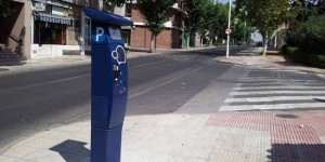 Nuevo parquímetro instalado en la Avenida Primero de Mayo