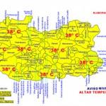 Alerta amarilla por calor: hasta 38 grados en toda la provincia de Ciudad Real
