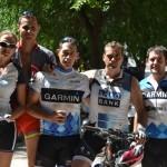 Sentido homenaje a Ángel Ayllón por parte de los apasionados de la bici