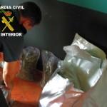 La Guardia Civil detiene en Almuradiel a una persona con 11.175 gramos de marihuana