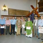Manzanares: Reconocimiento a diecinueve cofrades que cumplen medio siglo en la Hermandad de Jesús del Perdón
