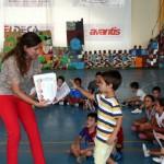 El teatro y el juego marcan el final de la Escuela de Verano de Carrión de Calatrava, en la que han participado 130 niños, durante julio y agosto
