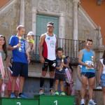 Carlos Enrique González y Mari Tere Ucendo, ganadores de la XXXVI Maratón Popular Manchega de Campo de Criptana