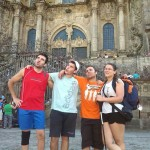 Los peregrinos de Daimiel llegan a Santiago