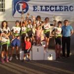 El XI Trofeo ciclismo E.Eleclerc Ciudad de Almagro contó con una participación de 100 ciclistas