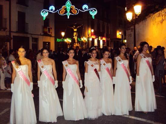 inauguración Feria y Fiestas, procesión
