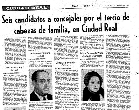 Lanza, 14 de noviembre de 1970