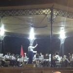 La Banda de Música de Malagón ofreció el tradicional concierto de verano en el templete del Parque Municipal