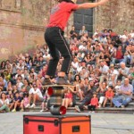 """""""Cualquier verdura"""" inicia las representaciones del Festival Internacional de Teatro Contemporáneo """"Lazarillo"""" 2013"""