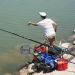 El pescador manzanareño Manuel Blanco consigue meterse en la elite de la pesca española siendo 7º de España