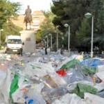Movilizados todos los recursos municipales del servicio de limpieza para afrontar la Pandorga
