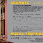 Asómate a la fotografía: Alumbre presenta sus talleres para los próximos meses