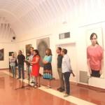 Inaugurada la exposición de los certámenes artísticos de la Fiesta de las Letras de Tomelloso