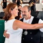 La alcaldesa de Ciudad Real y el Pandorgo se marcan los primeros pasos del Baile del Vermú