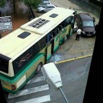Accidente de tráfico: El choque de un autobús y un camión deja dos heridos en Pedro Muñoz