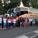 Padres de Brazatortas, Cabezarrubias e Hinojosas se niegan a subir a sus hijos al autobús escolar por el mal estado de la carretera