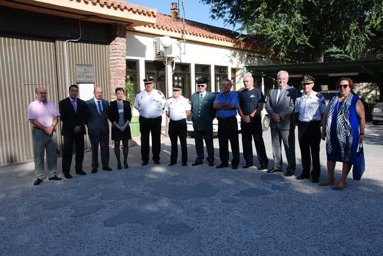 Autoridades y representantes de Cuerpos y Fuerzas de Seguridad