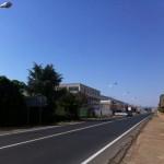 El Ayuntamiento de Argamasilla de Calatrava mejora la seguridad de la carretera a Puertollano con la renovación de los báculos