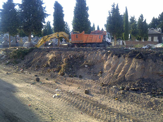 Calzada de Calatrava Obras Cementerio 1
