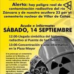 """Alerta: El """"bidón"""" radiactivo llega a Campo de Criptana"""