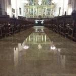 La Catedral de Ciudad Real, anegada por las aguas: Galería de fotos de las inundaciones en la capital