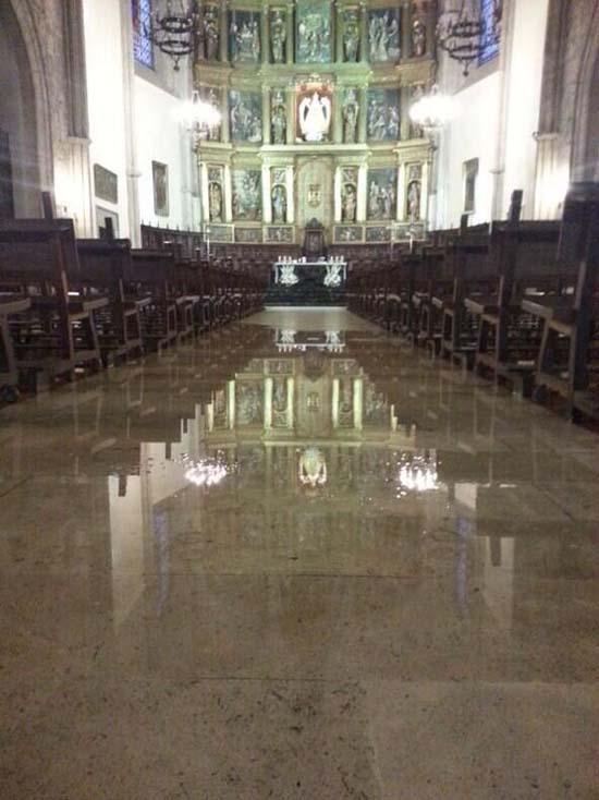 Catedral de Ciudad Real, esta tarde (Foto: Pedro L Hervás @Organeando)