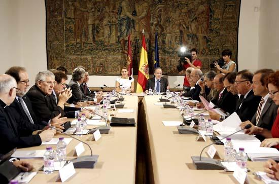 Cospedal preside reunion Patronato Fundacion El Greco 3