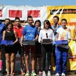 Puertollano: Pablo López y Miriam Laguna ganan la XI Media Maratón por delante de 530 corredores