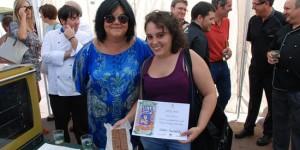 María José Fernández, a la izquierda de la imagen