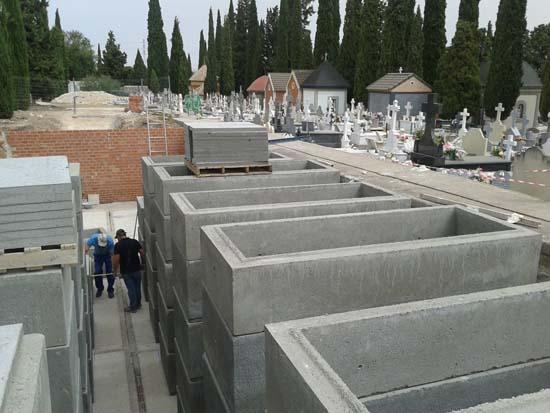 Nuevas sepulturas