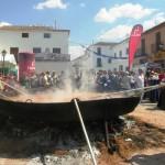 Miles de visitantes en el enorme pisto de Villanueva de los Infantes