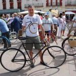 Alcázar de San Juan: Medio centenar de participantes en el encuentro de bicis clásicas