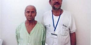Sánchez Menor con el doctor Borrás