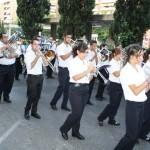 Puertollano: La Agrupación San Miguel Arcángel estrenó las adaptaciones del Himno a la Virgen de Gracia y Soy Minero
