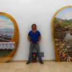 Puertollano: La obra más críptica de Emi Vozmediano se expone por vez primera en la ciudad industrial